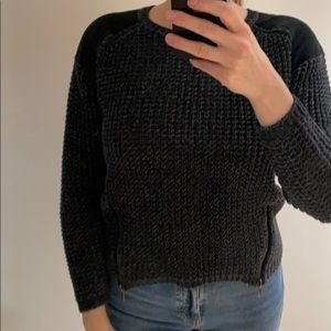 Silence & Noise Knit Sweater with Detailing